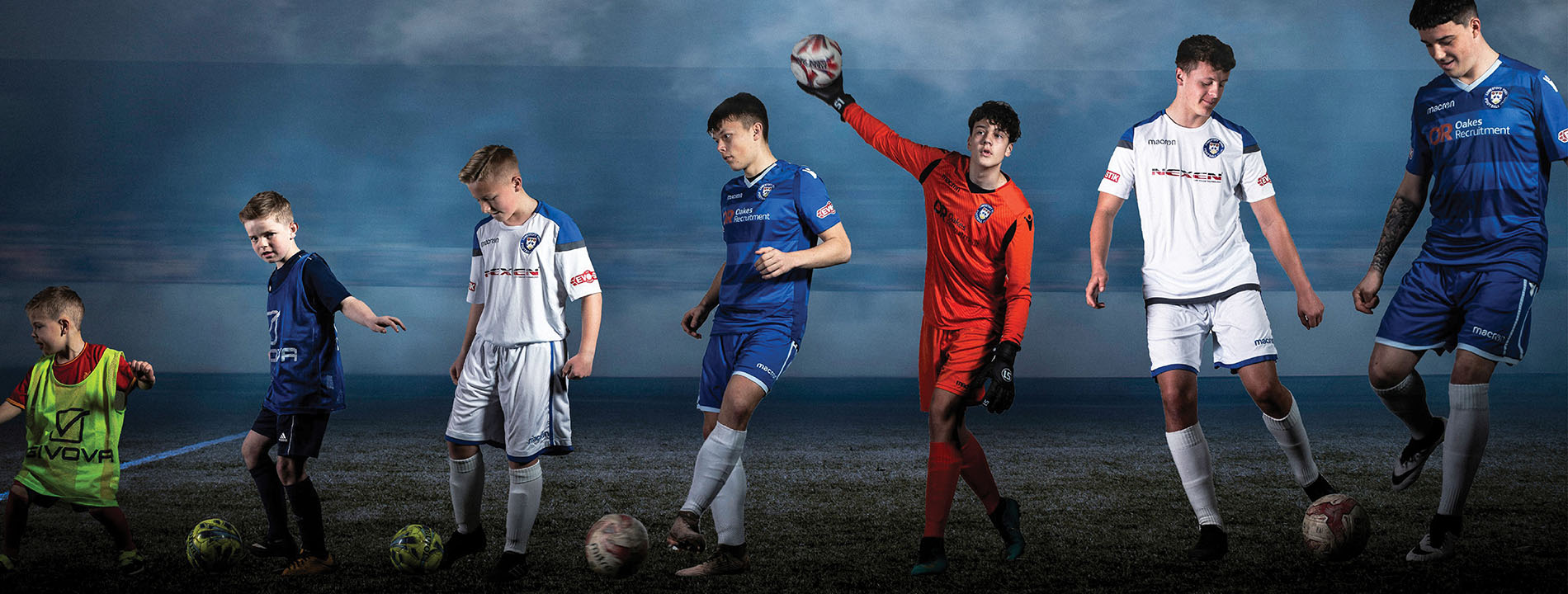 Lowestoft Town FC football Academy for 16-18 year olds run in partnership with SCL